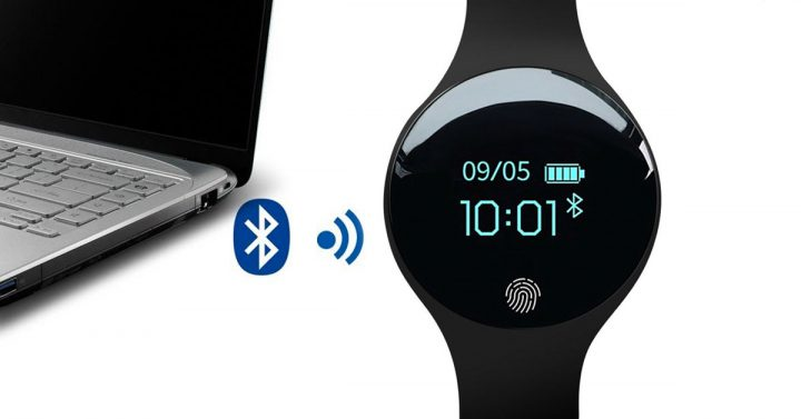 Bluetooth Fitness Watch to PC